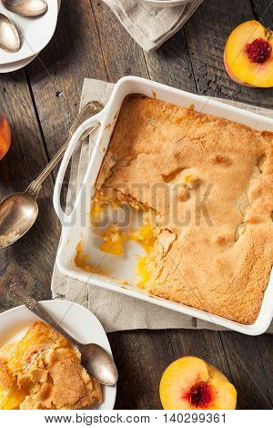 Delicious Homemade Peach Cobbler
