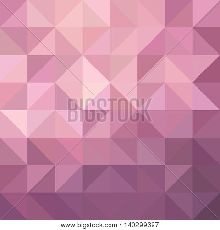 Pink Triangle Background Illustration