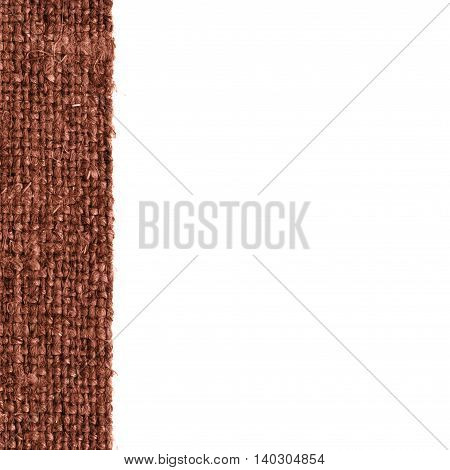 Textile tablecloth fabric decoration buckwheat canvas stylish material textured background