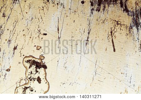 cracked concrete vintage wood wall background, old wall