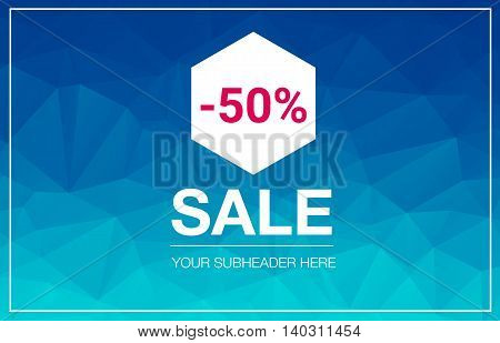 Super Sale Special Offer web banner template on colored background