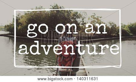 Vacation Adventure Wanderlust Explore Travel Concept