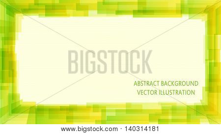 green trendy abstract background for your presentation