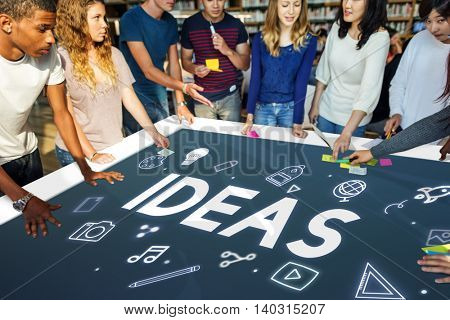 Ideas Creative Thinking Imagination Concept