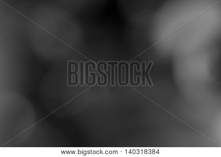 bokeh black and white tone abstract soft blurred background