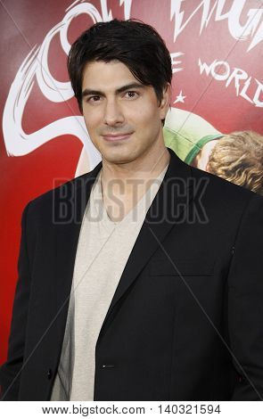 Brandon Routh at the Los Angeles premiere of 'Scott Pilgrim vs. The World' held at the Grauman's Chinese Theater in Hollywood, USA on July 27, 2010.