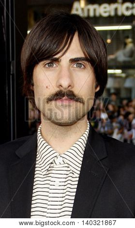 Jason Schwartzman at the Los Angeles premiere of 'Scott Pilgrim vs. The World' held at the Grauman's Chinese Theater in Hollywood, USA on July 27, 2010.