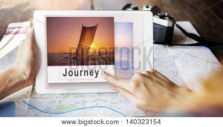Journey Adventure Travel Explore Destination Concept