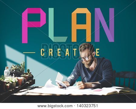 Plan Planning Ideas Mission Objective Process Concept
