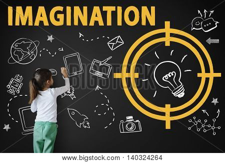 Vision Thinking Progress Invention Design Graphic Concept