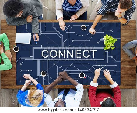 Technology Connection Online Networking Medias Conpt