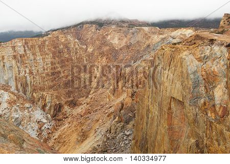 Abandoned Copper Mine