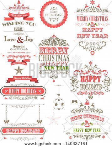 defferent kinds of ornament decoration background for holiday