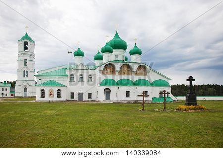 Male Holy Trinity Alexander Svirsky the man's monastery on the Roshchinsky lake