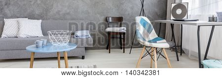 Combining Grey And Blue
