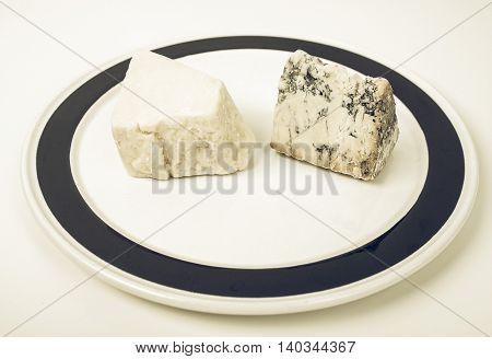 British Cheeses Vintage Desaturated