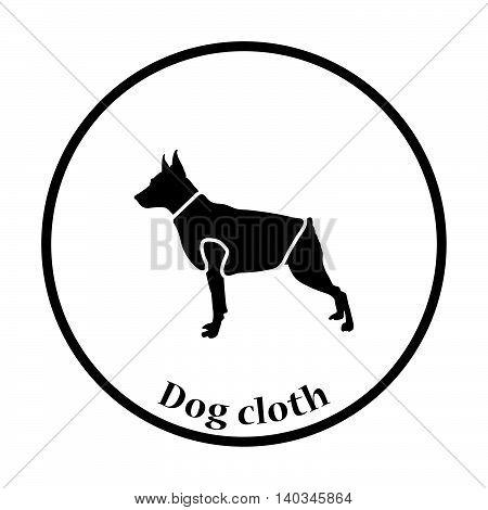 Dog Cloth Icon