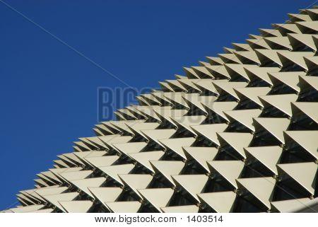 Roof Of Esplanade Theater Singapore