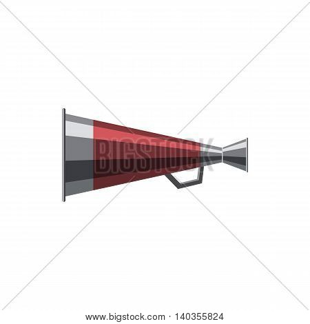 Mouthpiece icon in cartoon style isolated on white background. Sound symbol