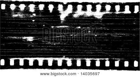 vector grunge filmstrip frame