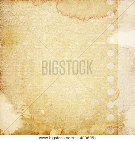 designed grunge paper background