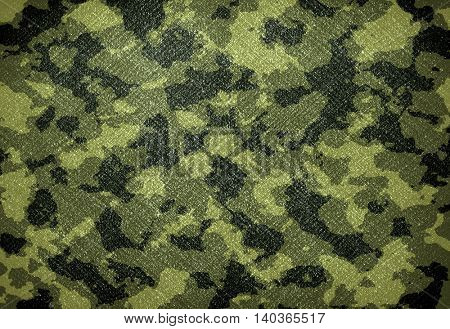 abstract army painting on wall background