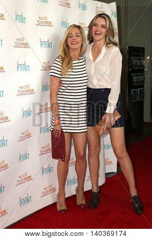 LOS ANGELES - JUL 27:  Christina Moore, Missi Pyle at the