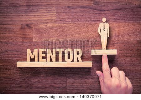 Mentor helps clients withs personal development and growth.