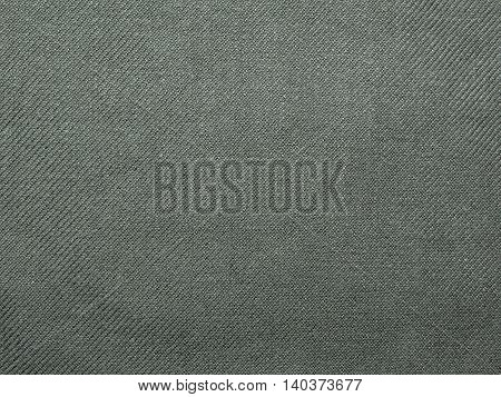 green cloth , dark green cloth khaki , closeup