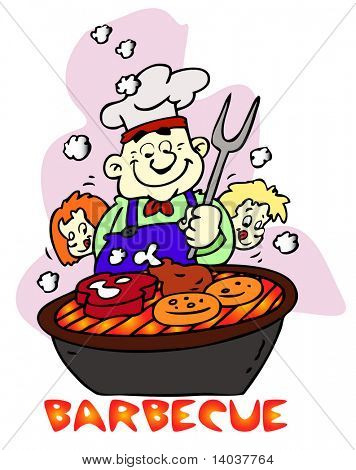 barbecue vector icon