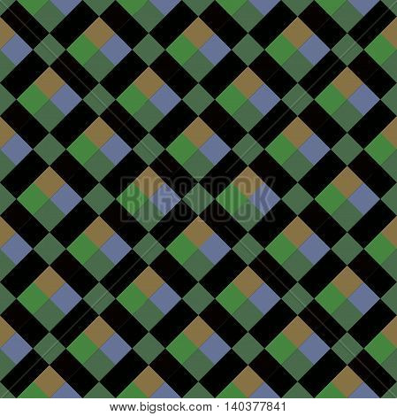 Seamless pattern background for floor or wall with squares. Vector illustration