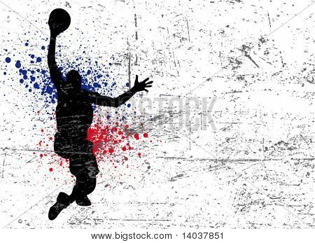 basketball vector poster