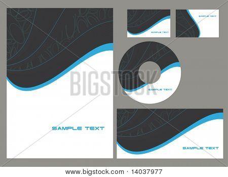 corporate vector identity