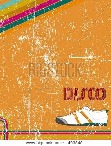 retro disco poster 2