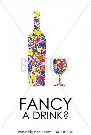 cartel de bebida 2