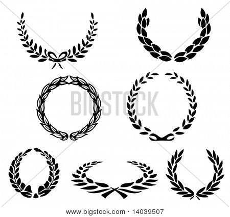 set of vector laurels