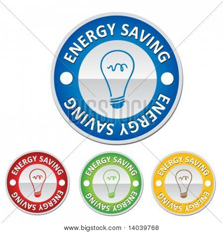 energy saving sign