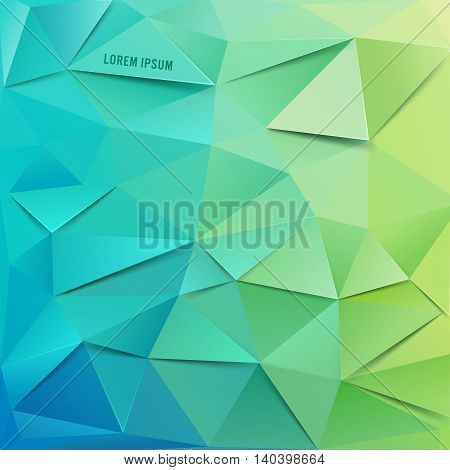 Abstract vector background for use in design. Vector Illustration