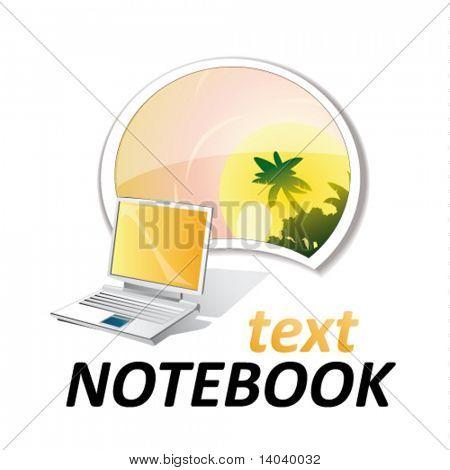 Laptop-Zeichen #6