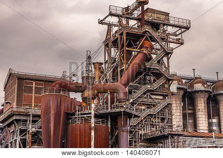 Landschaftspark Nord Duisburg blast fornace culture Industry