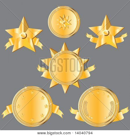 gold award design set
