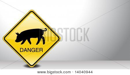 swine fly epidemic sign