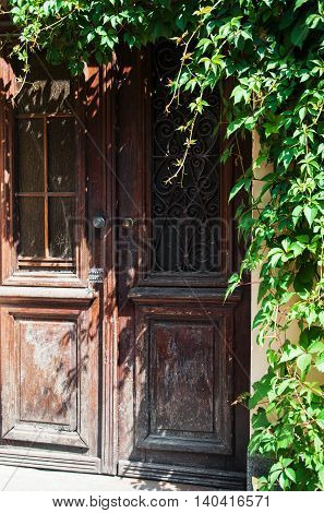 Retro Wooden Door