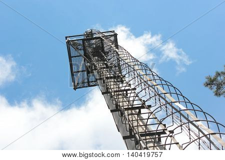 Mast for modern transmitting devices cellular mobile communication.