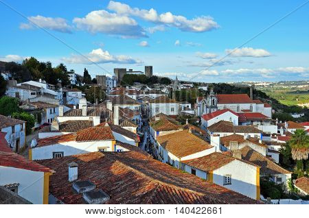 Obidos, one of the 10 most beautiful places in Portugal