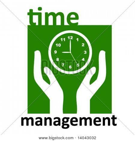 time management sign