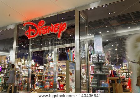 Las Vegas - Circa July 2016: Disney Store Retail Mall Location. Disney Store is the Official Site for Disney Shopping V