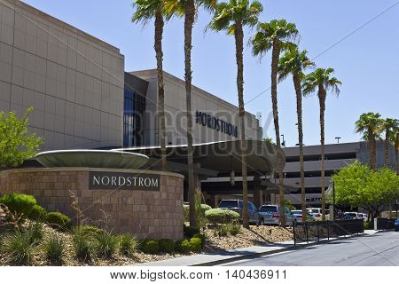 Las Vegas - Circa July 2016: Nordstrom Retail Mall Location. Nordstrom is Known for its Service and Fashion II