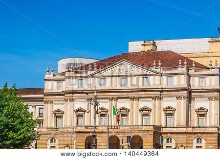 Teatro Alla Scala In Milan Hdr