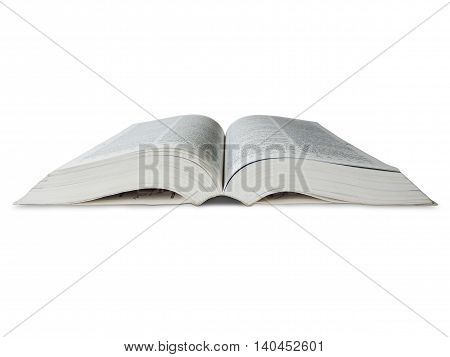 Advanced English dictionary, isolated on White background